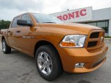 2012 Tequila Sunrise Pearl Dodge Ram 1500 Express Crew Cab #69028730