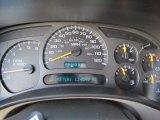 2004 Chevrolet Silverado 1500 LS Extended Cab 4x4 Gauges