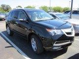 2011 Crystal Black Pearl Acura MDX  #69094511
