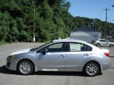 2012 Ice Silver Metallic Subaru Impreza 2.0i Premium 4 Door #69093937