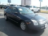 2008 Dark Blue Ink Metallic Ford Fusion S #69093904