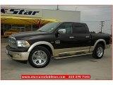 2011 Rugged Brown Pearl Dodge Ram 1500 Laramie Longhorn Crew Cab 4x4 #69094198