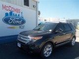 2013 Tuxedo Black Metallic Ford Explorer XLT #69093896