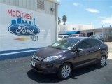 2013 Violet Gray Ford Fiesta SE Sedan #69093891