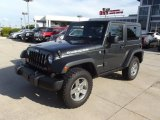 2010 Black Jeep Wrangler Rubicon 4x4 #69094182