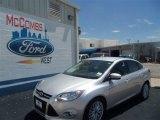 2012 Ingot Silver Metallic Ford Focus SEL Sedan #69093887