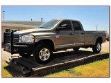 2008 Light Khaki Metallic Dodge Ram 3500 Laramie Quad Cab 4x4 #69094131