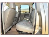 2008 Dodge Ram 3500 Laramie Quad Cab 4x4 Rear Seat
