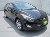 2013 Black Hyundai Elantra Limited #69094086