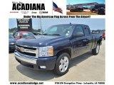 2008 Dark Blue Metallic Chevrolet Silverado 1500 LT Extended Cab #69094026