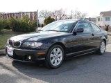 2006 Jet Black BMW 3 Series 325i Coupe #6908986