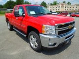 2013 Chevrolet Silverado 2500HD LT Extended Cab 4x4 Data, Info and Specs