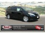2012 Black Toyota Sienna LE #69093709