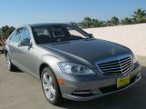 2013 Palladium Silver Metallic Mercedes-Benz S 550 Sedan #69093990