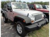 2012 Bright Silver Metallic Jeep Wrangler Sport 4x4 #69094260