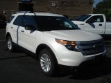 2013 White Platinum Tri-Coat Ford Explorer XLT 4WD #69093981