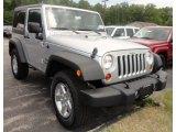 2012 Bright Silver Metallic Jeep Wrangler Sport S 4x4 #69094259