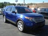 2013 Deep Impact Blue Metallic Ford Explorer FWD #69093980