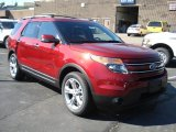 2013 Ruby Red Metallic Ford Explorer Limited 4WD #69093977