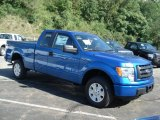 2012 Blue Flame Metallic Ford F150 STX SuperCab 4x4 #69093973