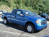 2012 Blue Flame Metallic Ford F150 STX SuperCab 4x4 #69093973