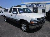 2000 Summit White Chevrolet Silverado 1500 LS Extended Cab 4x4 #69150633