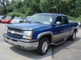2003 Arrival Blue Metallic Chevrolet Silverado 1500 Z71 Extended Cab 4x4 #69149972