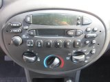 2001 Ford Escort ZX2 Coupe Controls