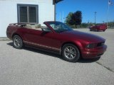 2005 Redfire Metallic Ford Mustang V6 Deluxe Convertible #69150607