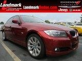2011 Vermillion Red Metallic BMW 3 Series 328i Sedan #69149934