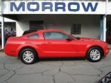 2007 Torch Red Ford Mustang V6 Deluxe Coupe #69149873