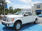 2011 Oxford White Ford F150 Lariat SuperCab 4x4 #69149862