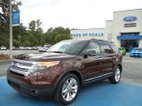 2012 Cinnamon Metallic Ford Explorer XLT #69149861