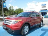 2013 Ruby Red Metallic Ford Explorer XLT #69149856