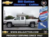2013 Silver Ice Metallic Chevrolet Silverado 1500 LT Extended Cab 4x4 #69150488