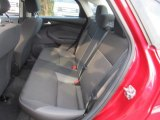 2012 Ford Focus SE Sedan Rear Seat