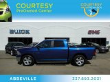 2009 Deep Water Blue Pearl Dodge Ram 1500 Big Horn Edition Crew Cab #69150471