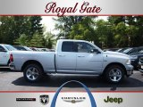 2012 Bright Silver Metallic Dodge Ram 1500 Big Horn Quad Cab 4x4 #69150430