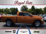 2012 Tequila Sunrise Pearl Dodge Ram 1500 Sport Quad Cab 4x4 #69150426