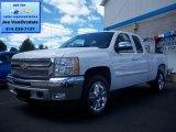 2012 Summit White Chevrolet Silverado 1500 LT Extended Cab 4x4 #69149787