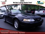 2000 Black Ford Mustang V6 Convertible #69150405