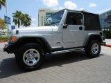 2002 Jeep Wrangler Bright Silver Metallic