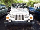2006 Stone White Jeep Wrangler Unlimited Rubicon 4x4 #69149720