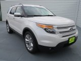 2013 White Platinum Tri-Coat Ford Explorer Limited EcoBoost #69150030