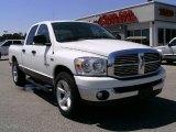 2008 Bright White Dodge Ram 1500 Big Horn Edition Quad Cab #6908928