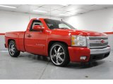 2008 Victory Red Chevrolet Silverado 1500 LT Regular Cab #69214142