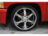 2008 Chevrolet Silverado 1500 LT Regular Cab Custom Wheels