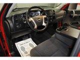2008 Chevrolet Silverado 1500 LT Regular Cab Ebony Interior