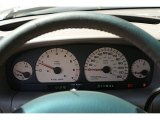 2000 Chrysler Town & Country Limited Gauges