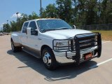 2005 Oxford White Ford F350 Super Duty King Ranch Crew Cab Dually #69214465
